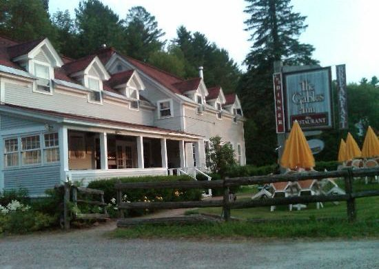 Gables Inn, Stowe, Right on the Mountain Road
